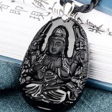 Belwide Crocs Avalokitesvara Obsidian pendant is patron of the year of the rat n