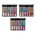 78 Cores Fosco/brilho/marrom/smoky Sombra Mineral Maquiagem Paletas de Sombra + Blush + batom + Bronzers Make-up kit de Cosméticos
