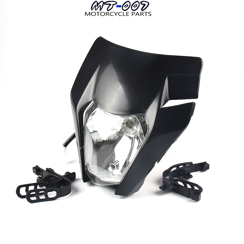 New Motorcycle Dirt Bike Motocross Universal Headlight For 2017 KTM SX SX-F EXC EXC-F Headlamp