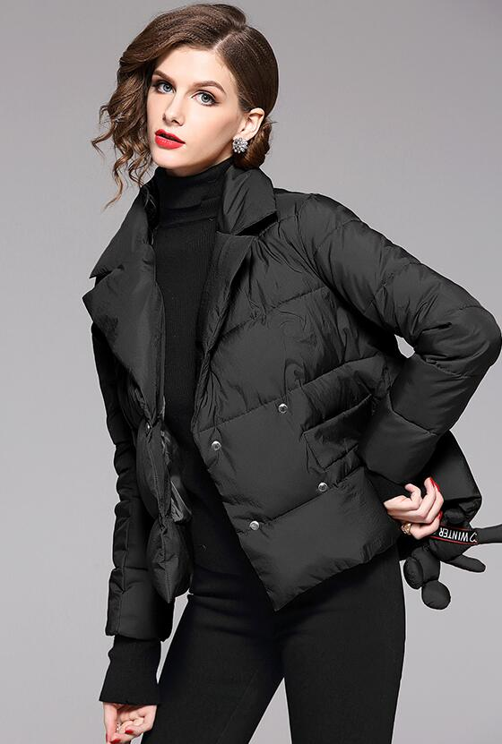 2019 New Temperament Fashion Loose fitting Cotton Jacket Women Down Jacket Warm Jacket Women Coat
