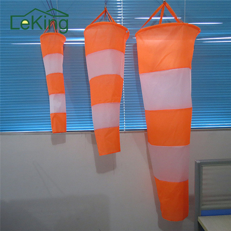 All Weather Nylon Wind Sock Weather Vane Windsock Outdoor Toy Kite Wind Monitoring Needs Wind Indicator