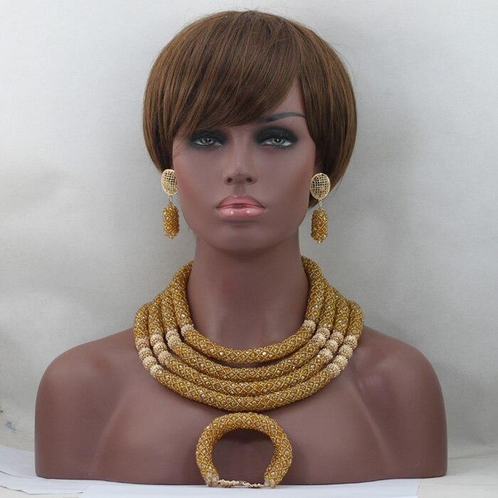 Splendid Crystal Nigerian African Wedding Bridal Jewelry Set Gold Costume Lady Bridal Ball Jewelry Set Free Shipping QW993Splendid Crystal Nigerian African Wedding Bridal Jewelry Set Gold Costume Lady Bridal Ball Jewelry Set Free Shipping QW993