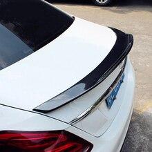 Real Carbon Fiber Performance trunk spoiler wing Highkick Trunk Spoiler Wing for Mercedes for Benz W205 C63 AMG PSM 2015-2017 цена в Москве и Питере