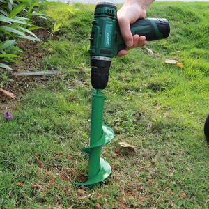 Drill-Bit Digger-Tool-Replacement Garden-Tools Earth-Auger Plante-Drill Spiral Gardening-Bedding