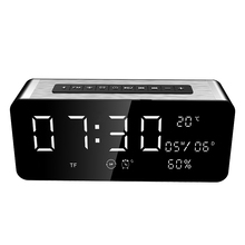 Portable SARDiNE A10 Large Display LED Wireless Bluetooth Speaker with FM Radio 12W Super Bass Heavy Subwoofer Support Card