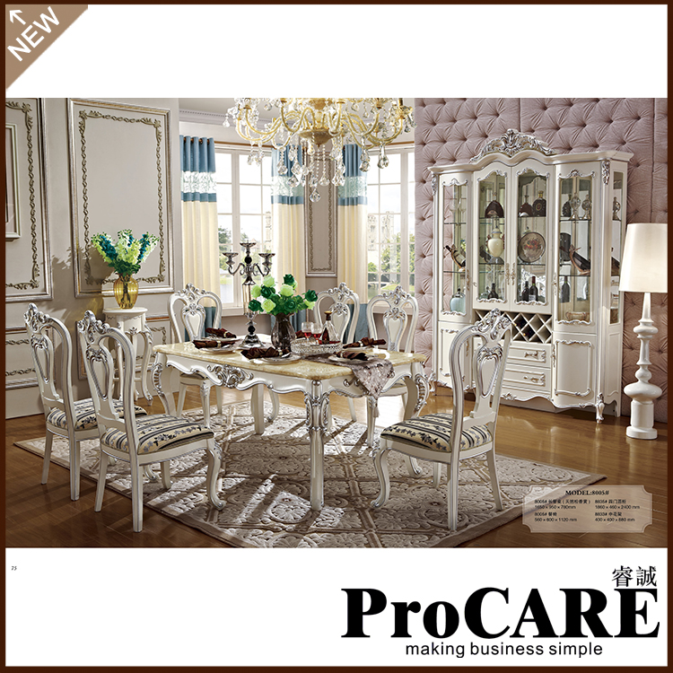 French New Design Dinning Room Furniture marble table wooden carving dinning table sets glass table mesas store furniture special offer rushed antique wooden no cam sehpalar loft 2016 french style dinning table
