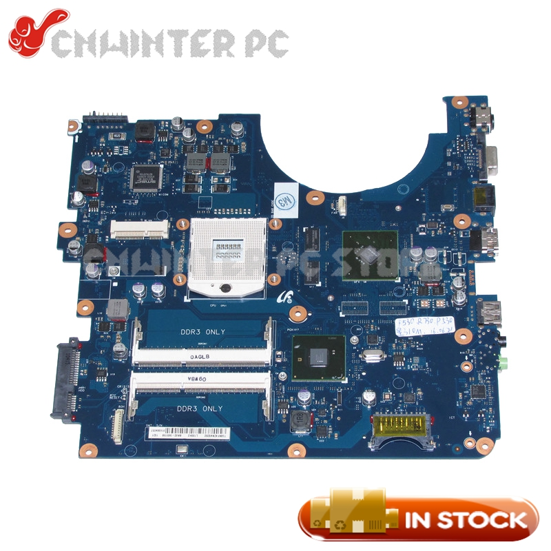 NOKOTION BA92-06515A BA92-06515B BA41-01174A For Samsung R730 R728 Laptop Motherboard HM55 GT310M DDR3 Free CPU nokotion for samsung r530 laptop motherboard ba92 06346a ba92 06346b ba41 01227a pm45 gt310m ddr3