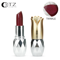 7 צבעים שפתונים עבור יהלומי איפור מבריק מט הבלחה Bangin שפתונים עבור יופי אדום כחול שפתון קל ללבוש