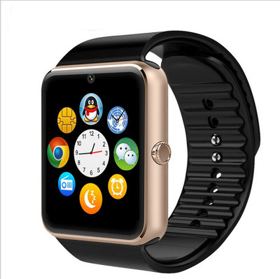 2016 New Bluetooth Smart watch Wristwatch for Apple iPhone IOS Android Phone Intelligent Clock Sport Watch PK GT08 DZ09 F69 U8
