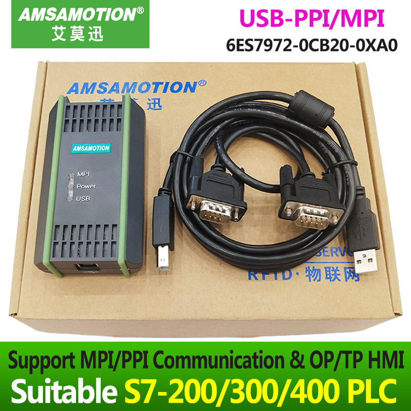 S7 300 MPI Download Cable 6ES7 9720CB200XA0 PC Adapter SIMATIC 6ES7 972 0CB20 0XA0 USB MPI