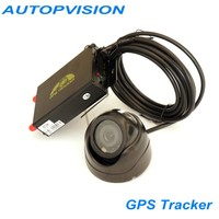 Vehicle gps tracker TK105B vehicle alarms/gps tracking system with remote controller + camera and cable