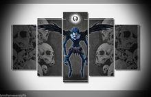 Death Note japan anime print poster canvas decoration 5 pieces  20x35cmx2,20x45cmx2,20x55cm