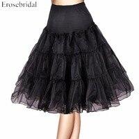 Free Shipping Short Organza Petticoat Jupon Crinoline Wedding Bridal Underskirts For Vintage Dress Prom Dress
