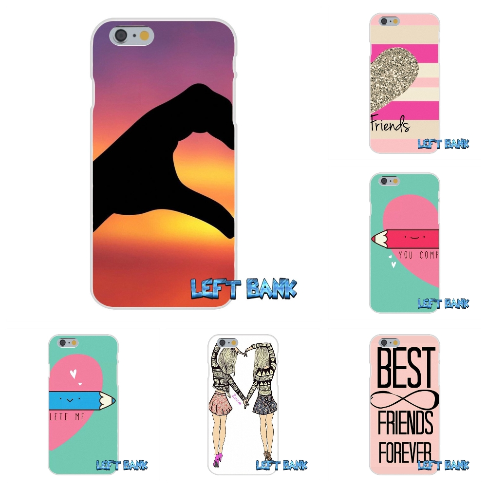 Happy Best Friend Card BFF Silicon Soft Phone Case For