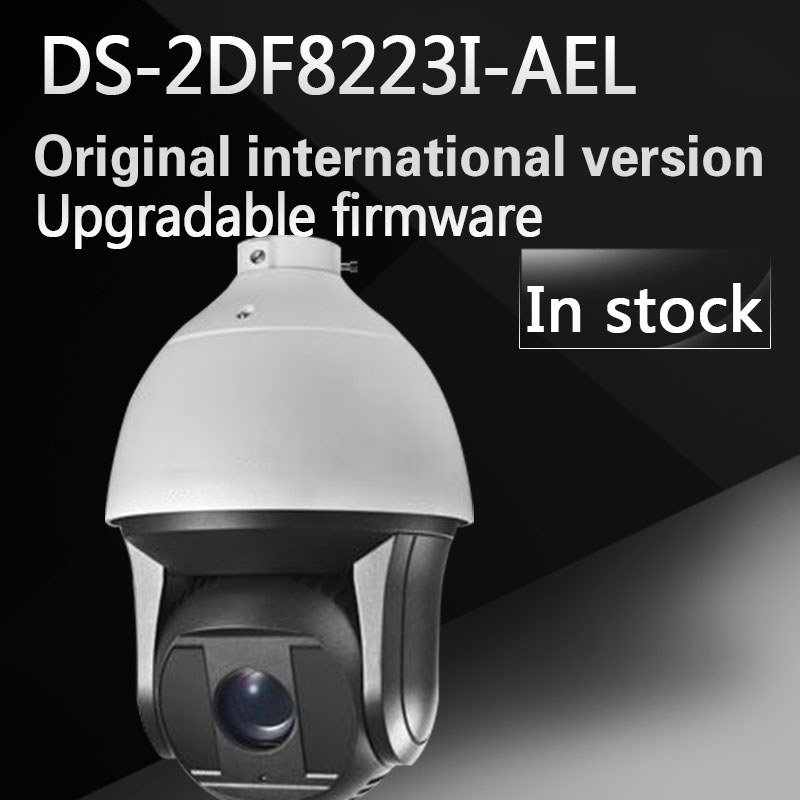 free shipping english version 2MP Ultra-low Light Smart PTZ Camera DS-2DF8223I-AEL with POE hikvision ds 2df8223i ael english version 2mp ultra low light smart ptz camera ultra low illumination dark fighter