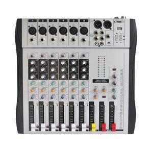 Image 1 - Freeboss MX 600 6ch Mono 6 kanallar iyi kalite sıcak satış USB profesyonel ses dj mikseri