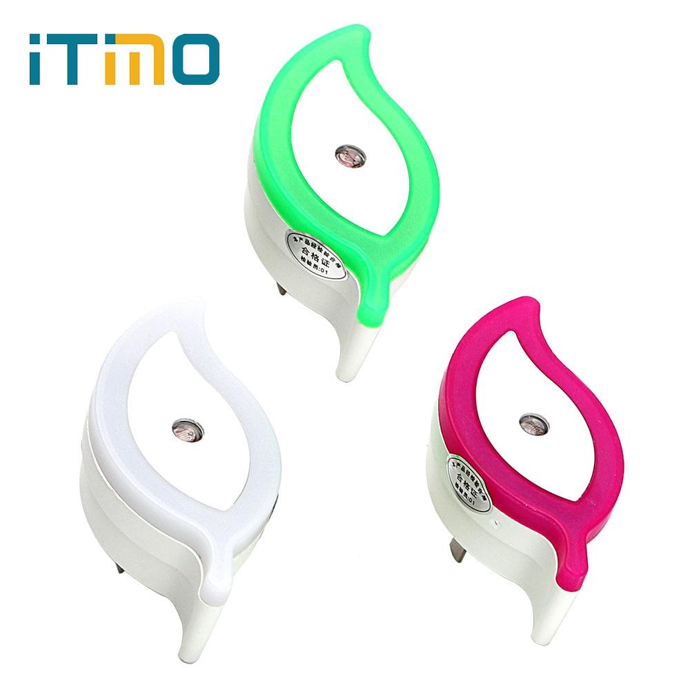 ITimo Hot Sale Leaf Night Lamp US Plug Romantic LED Night Light Light - Night Lights