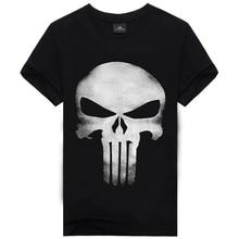 3D T Shirt Men Plus Size Cotton Tops Tee Skull Printed Short Sleeve Cotton T-shirt Men Hip Hop Camisetas Brand Clothing