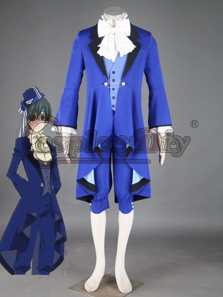 ᐃcosplaydiy black butler ciel phantomhive dance suit cosplay adult
