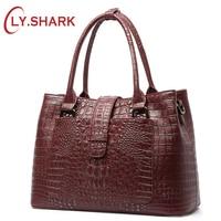 Tinyffa Bags For Women 2017 Crocodile Pattern Leather Handbags European And American Style Luxury Handbags Women