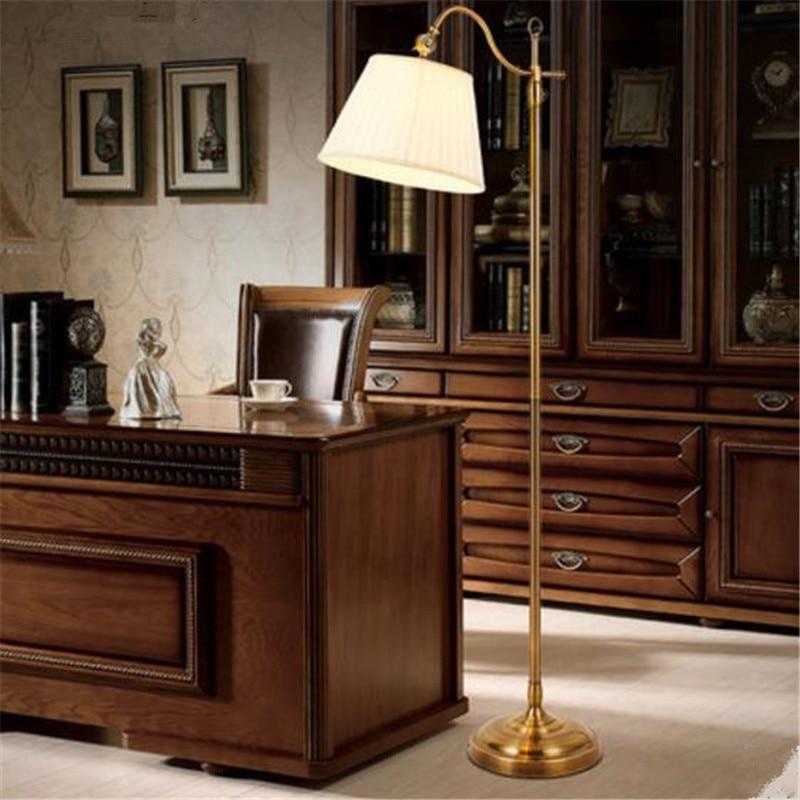 pais americano sombra tecido lampada de assoalho luz estudo luz do quarto retro nobre cafe bar