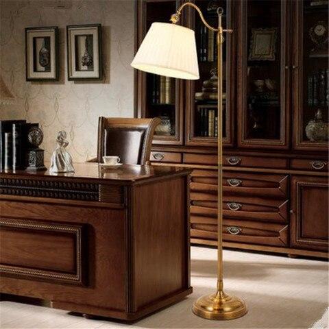 pais americano sombra tecido lampada de assoalho luz estudo luz do quarto retro nobre cafe