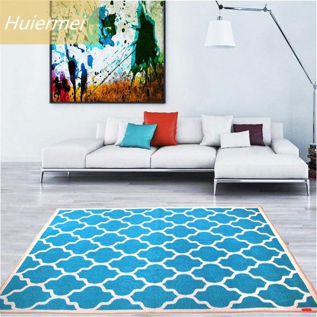 133x190 cm Blauw Mediterrane Tapijt Familie Woonkamer Slaapkamer ...