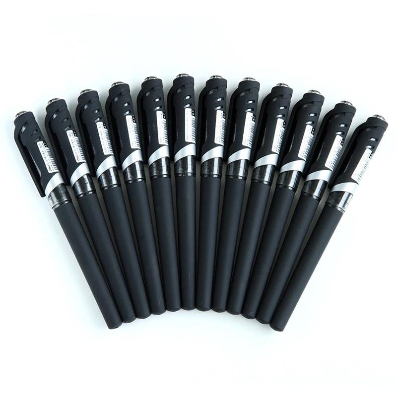 S21 Gel Pen 0.7 Mm Bullet Scrub Pen Soft And Comfortable Black