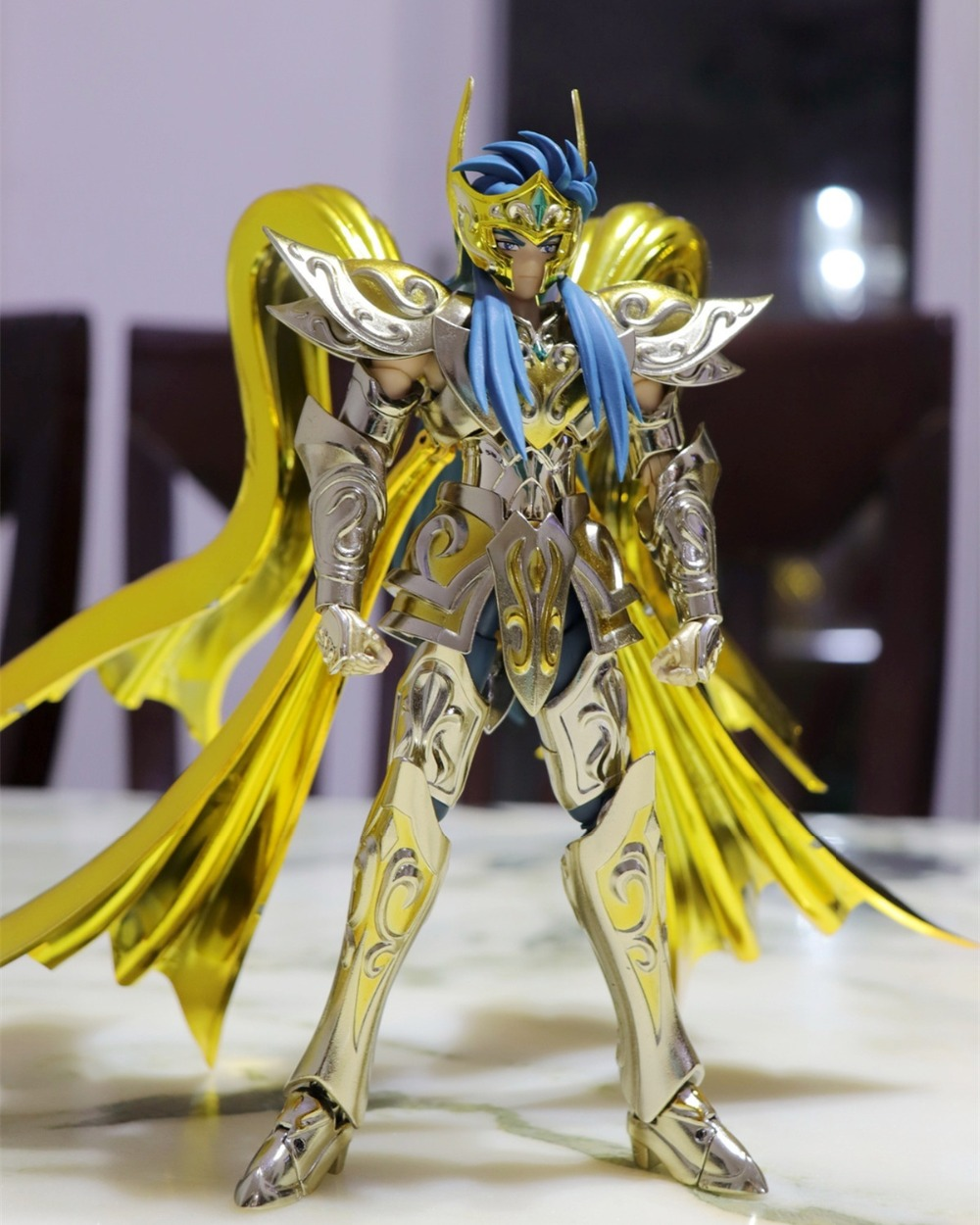 GT Great Toys <font><b>Saint</b></font> <font><b>Seiya</b></font> <font><b>Myth</b></font> Soul of God Gold SOG <font><b>Aquarius</b></font> Camus metal <font><b>Cloth</b></font> SG31* image