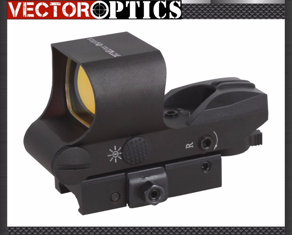 Free Ship Vector Optics 1x28x40 Tactical Multi Reticle Red Dot Scope Sight with quick assembly detachable QD 21mm Weaver Baser vector optics tempest 1x35 multi reticle tactical red dot scope mil spec matte finish fit picatinny rail low for night vision