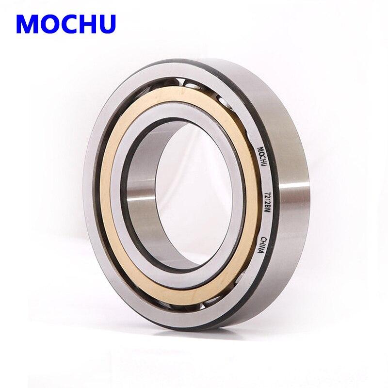 1pcs MOCHU 7210 7210BM 50x90x20 7210BECBM 7210-B-MP Angular Contact Ball Bearings ABEC-3 Bearing High Quality Bearing 1pcs 71901 71901cd p4 7901 12x24x6 mochu thin walled miniature angular contact bearings speed spindle bearings cnc abec 7