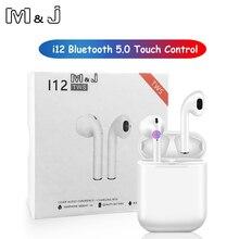 2019 новый оригинальный i12 СПЦ Беспроводной Bluetooth 5,0 наушники pk i10 СПЦ air 1:1 lk xy стручки i14 i13 СПЦ i20 для Xiaomi airdot te9