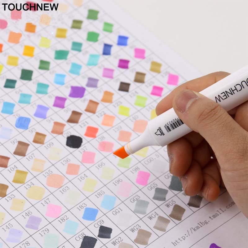 Marcadores da Arte touchnovidade markery 30/60/80/168 cores artist Name : Touchnew Marker