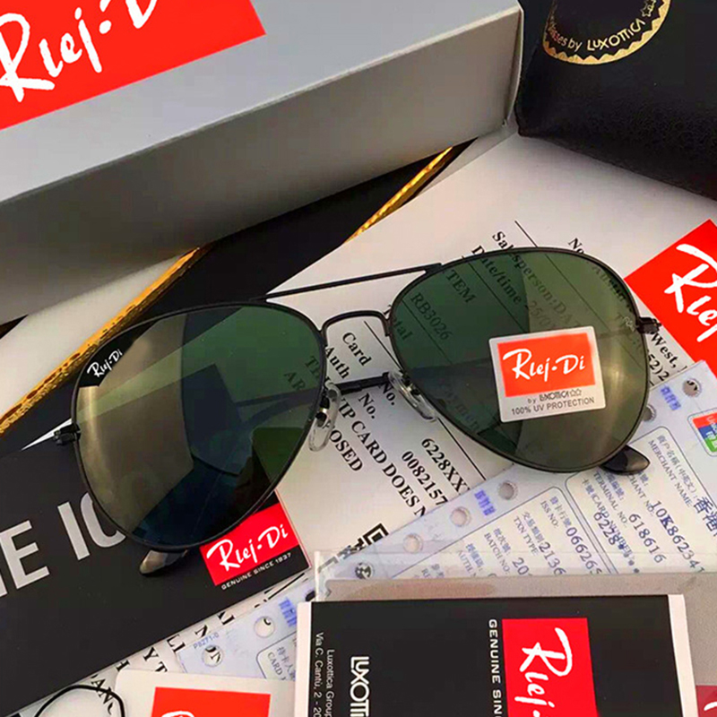 Classic G15 Sunglasses Women 58MM Glass Lens Sunglasses Men Shades Male Pilot Sunglass Female Driving Sunglasses UV400 Rays