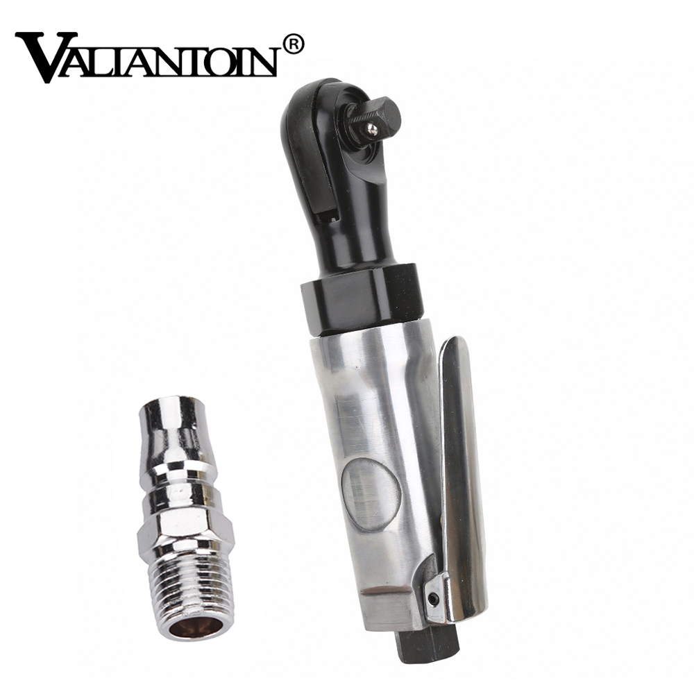 VALIANTOIN 3 8 Inch Pneumatic Ratchet Wrench Air Tools Commutation Speed Mini Promotions Spanner Silver Pneumatic