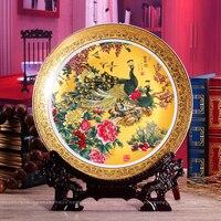 Qualität mode-platte reichen hängenden platte dekoration platte keramik dekoration kunsthandwerk