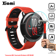 For Smart Watch Xiaomi Huami Amazfit Pace Sports Smartwatch Tempered Glass Screen Protector Ultra Clear Protective Film-! for tic smart watch ticwatch pro bluetooth smart watch screen protector cover ultra clear guard tempered glass protective film