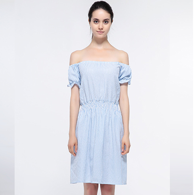 a2054c3cb59 Sexy dress robe de festa pas cher vêtements chine slsh cou robe listrado  plus taille vêtements