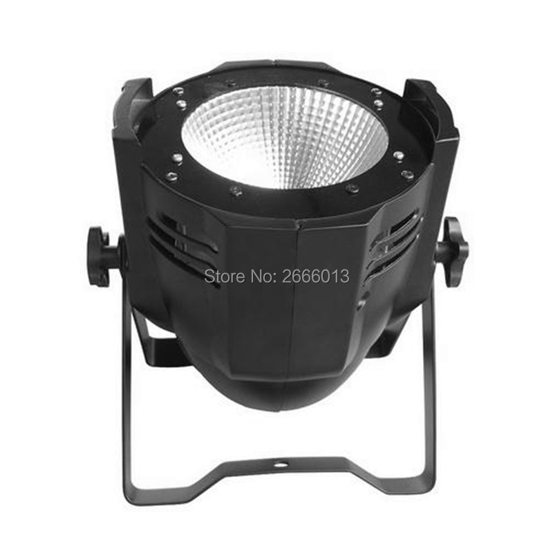 High Brightness LED Par Light COB 100W Aluminium Case White And Warm White DJ DMX512 LED Beam Wash Strobe Effect Stage Lighting led par cob 200w only violet strobe stage light high power dmx512 light aluminium case stage lighting dj equipment