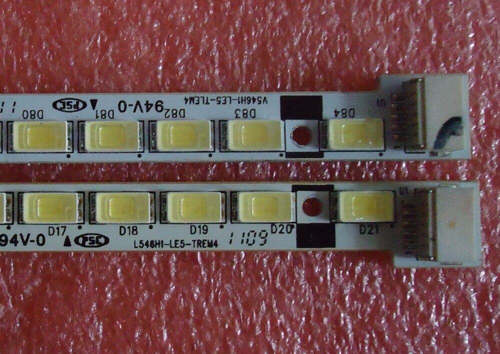 LED écran de rétroéclairage Pour 55 pouces LED TV V546H1-LE5-TLEM4 L546H1-LE5-TREM4 LED TV Bande lumière LMB-5500BM02 1 pièces = 84 LED 615mm