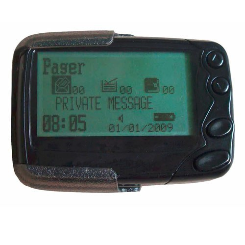 High Quality W09n Alphanumberic Pager R Text Message