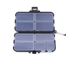 Waterproof Eco-Friendly Fishing Tool Lure Bait Tackle PlasticStorage Box Case Container with Individual Compartments