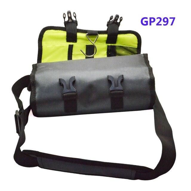 Яйцо-ролл Стиль Водонепроницаемая сумка для Gopro Hero \ Xiaomi Yi \ SJ5000X SJCAM SJ4000 камера спорта