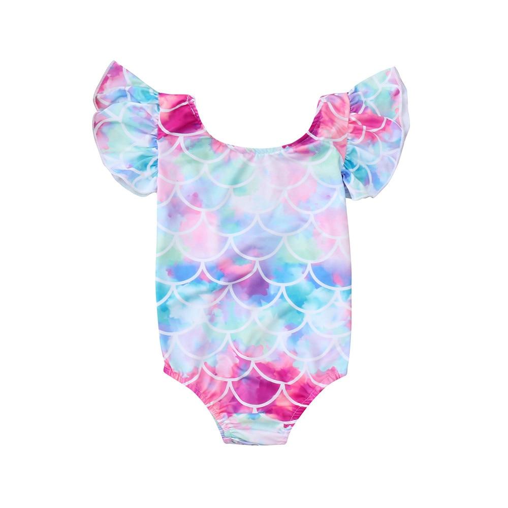 Mother & Kids Bodysuits & One-pieces 2018 Kids Baby Girls Summer Bikini Ruffle Sleeveless Strap Swimwear Swimsuit Suit Bodysuit Cute Summer Beachwear