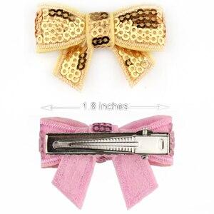 Image 5 - Barrettes pour cheveux, nœuds dété populaires, barrettes pour filles, 600 pouces, épingles à cheveux, 1.8 pièces/lot, livraison gratuite DHL