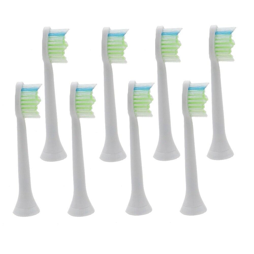 где купить 400Pcs/lot TOOTH BRUSH HEADS For PHILIPS Sonicare FlexCare Diamond Clean HX6064 HX6014 HX6730 HX6910 HX6530 HX3110 HX3120 HX3130 по лучшей цене