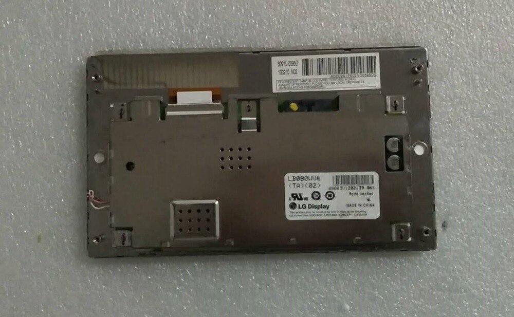 Original teardown old LB080WV6 TA 03 LB080WV6 LB080WV6 TA02 LB080WV6 TA03 LCD Displays