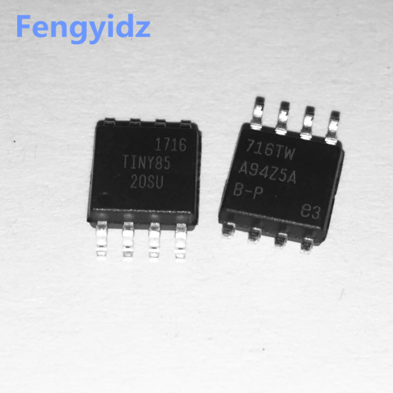 ATTINY85 20SU ATTINY85 20 SOP 8 50pcs/lot Free shipping-in Integrated Circuits from Electronic Components & Supplies