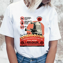 Doctor Who t shirt funny tshirt for tees clothing t-shirt graphic female korean top harajuku ulzzang women
