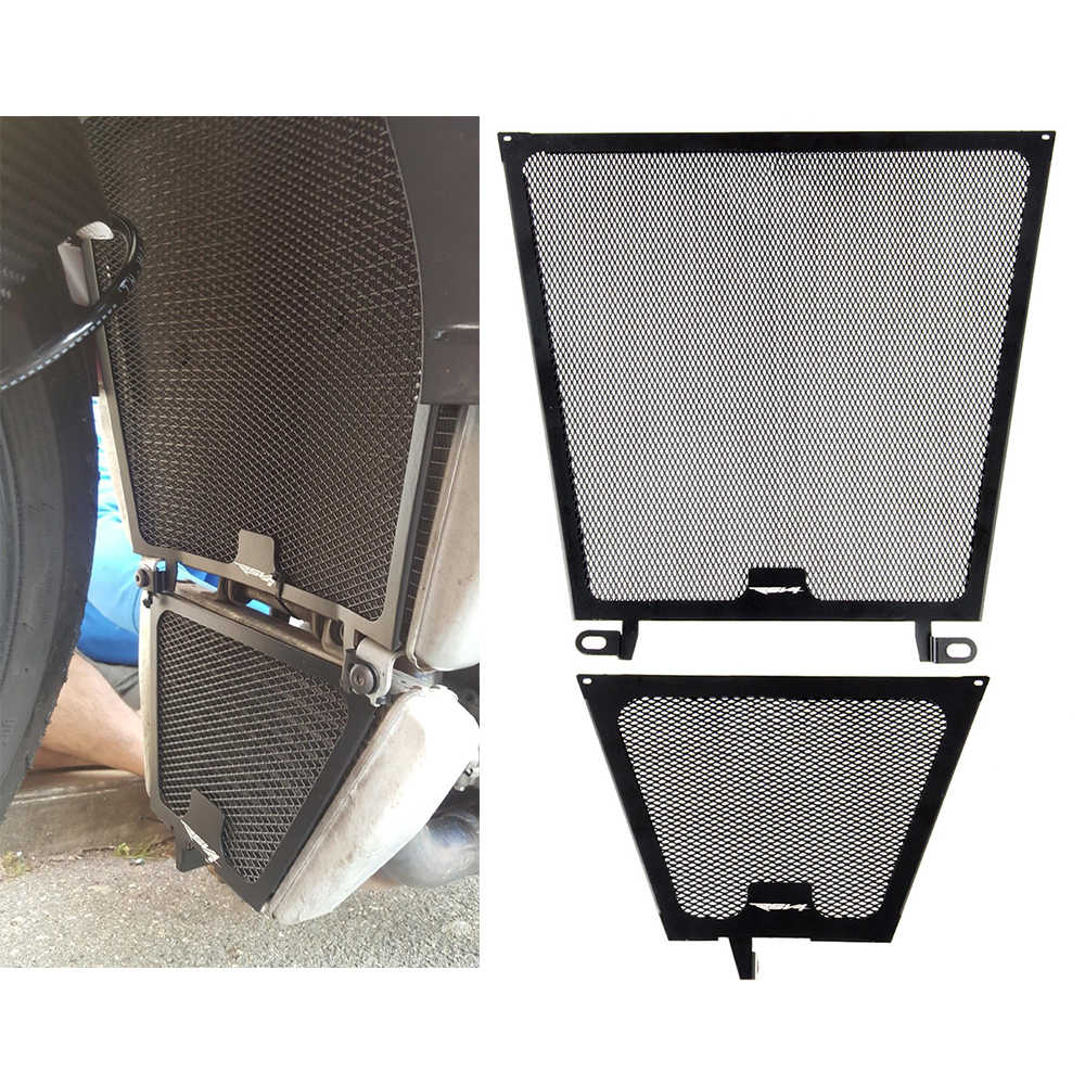 Radiator Grill Guard Cover Protector For Aprilia RSV4 2010-2019 TuonoV4 1000 2011-2019 TuonoV4 1100 2015 2016 2017 2018 2019